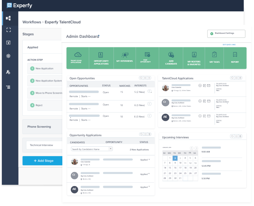 Track your Hiring through a Single Dashboard